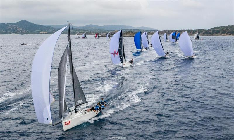 Day Two of the Melges 24 Pre-worlds in Villasimius  - photo © IM24CA/Zerogradinord