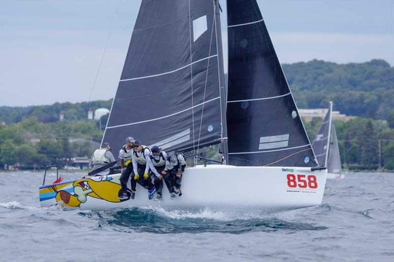 2019 Melges 24 North American Champion Travis Weisleder racing Lucky Dog. - photo © Bill Crawford / harborpictures.com