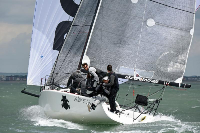 HP30 class winner: John Reivers' Melges 32, Drop Bear at the RORC IRC Nationals - photo © Rick Tomlinson / www.rick-tomlinson.com