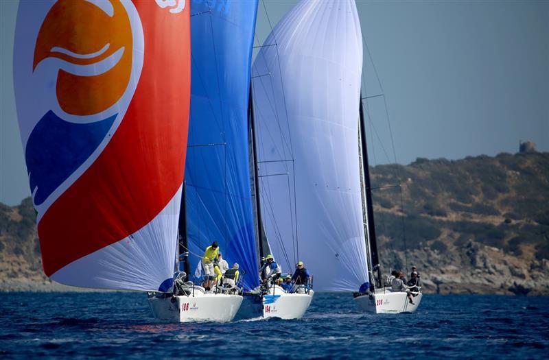 Melges 32 World League in Villasimius, Sardinia - Day 2