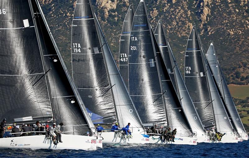 Melges 32 World League in Villasimius, Sardinia - Overall