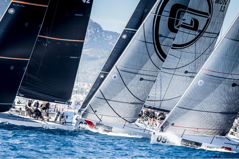 Melges 40 fleet on day 2 at Sail Racing PalmaVela - photo © Sail Racing PalmaVela /