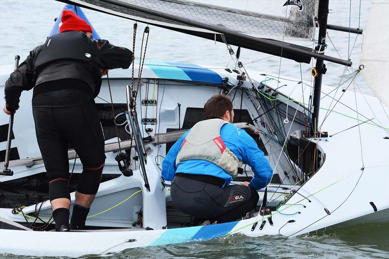 56th Hamble Warming Pan - photo © Trevor Pountain