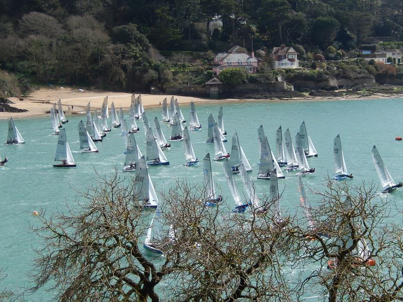 Craftinsure Merlin Rocket Silver Tiller Open at Salcombe - photo © Margaret Mackley