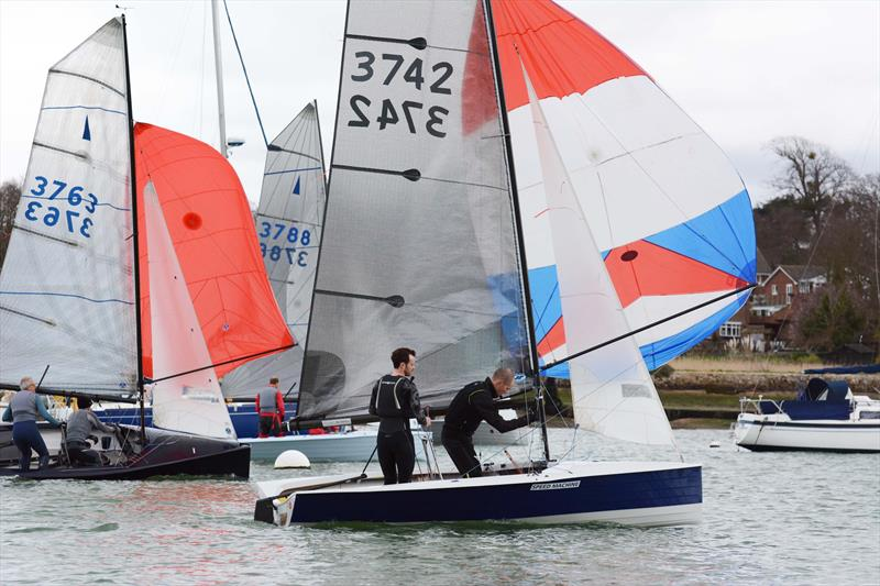 All set for the Hamble Centenary Warming Pan 2019 - photo © Trevor Pountain