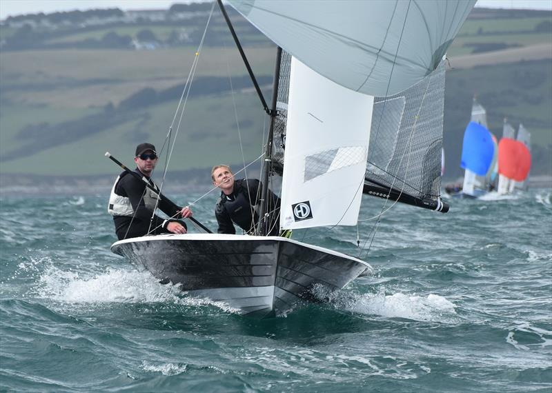 Aspire Merlin Rocket Nationals at Looe day 2 - photo © Neil Richardson