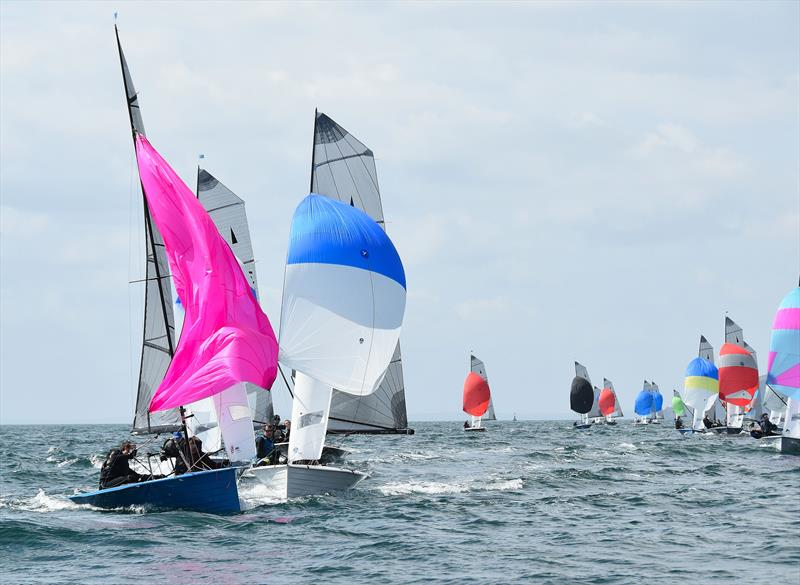 Aspire Merlin Rocket Nationals at Looe day 4 - photo © Neil Richardson