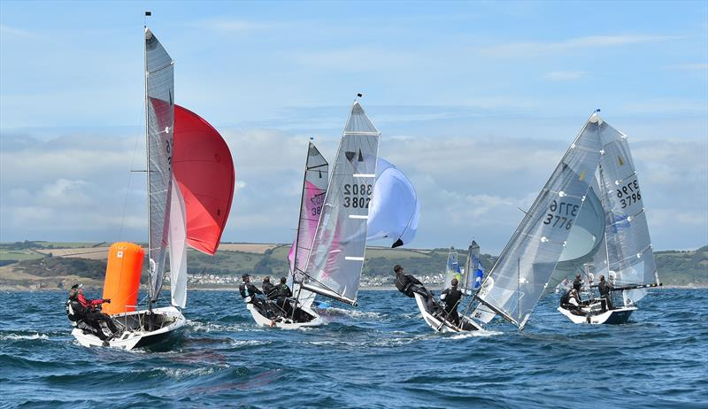 Aspire Merlin Rocket Nationals at Looe day 5 - photo © Neil Richardson