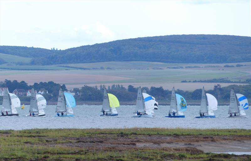 Enjoying the conditions during the Lymington Merlin Rocket Open  - photo © Angus Aylward