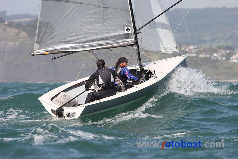 Selden Merlin Rocket Nationals At Lyme Regis Sailing Club