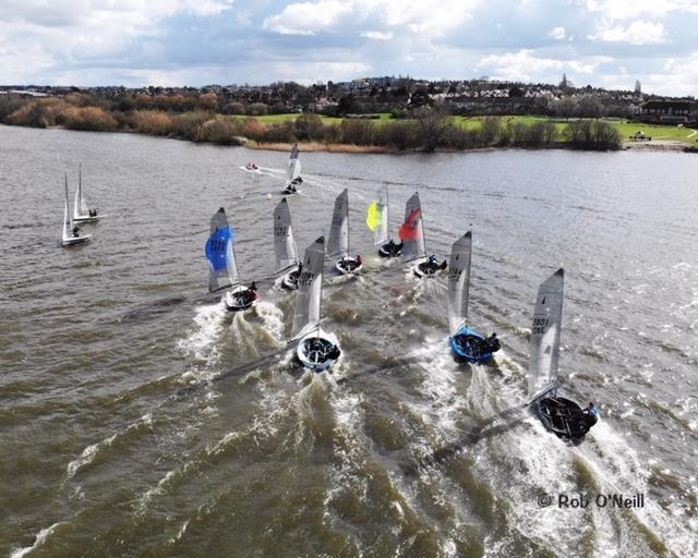 Merlin Rocket Craftinsure Silver Tiller at Wembley 2019 photo copyright Rob O'Neill taken at Wembley Sailing Club and featuring the Merlin Rocket class