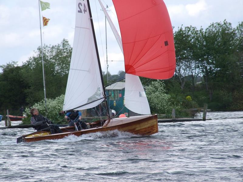 DeMay Vintage series for Merlins at Fishers Green photo copyright FGSC taken at Fishers Green Sailing Club and featuring the Merlin Rocket class