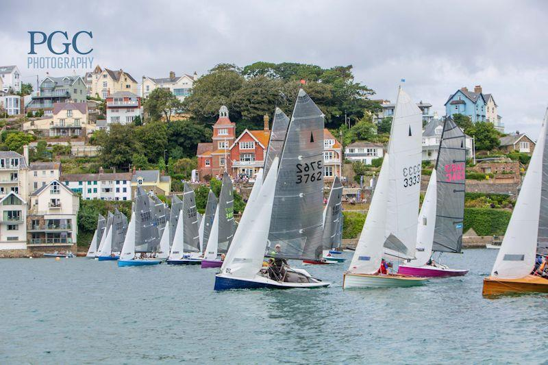 Salcombe Gin Merlin Rocket Week 2019 day 1 photo copyright Paul Gibbins / pgcphotography.pixieset.com taken at Salcombe Yacht Club and featuring the Merlin Rocket class