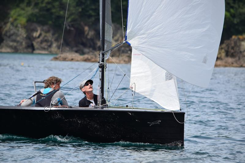 Salcombe Gin Merlin Rocket Week 2019 day 4 photo copyright Tim Fells taken at Salcombe Yacht Club and featuring the Merlin Rocket class