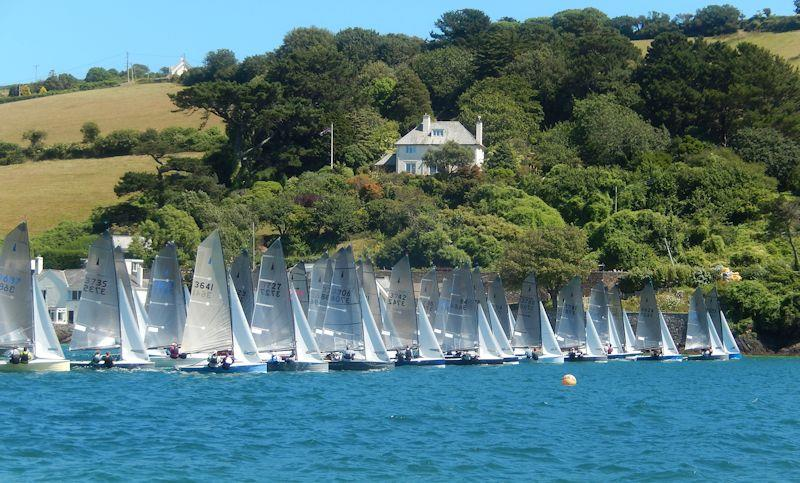 Salcombe Gin Merlin Rocket Week 2019 day 5 afternoon race - photo © Malcolm Mackley