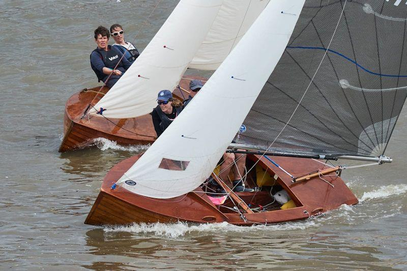 Merlin Rocket Downriver Race at Ranelagh - photo © John Pahl
