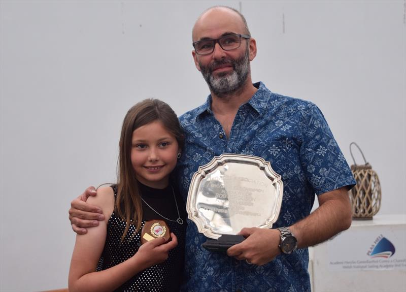 Miracle Nationals at Pwllheli: Bronze Fleet winners Ian and Lilly Brown - photo © Brian Jones