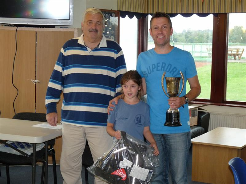 Chris & Daisy Fuller win the Mirror Inlands at Shustoke - photo © Denis
