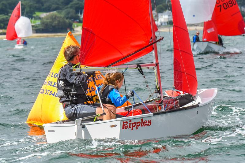 Chris & Daisy Fuller during the 2017 Gul Mirror Worlds at Restronguet - photo © Lee Whitehead / www.photolounge.co.uk