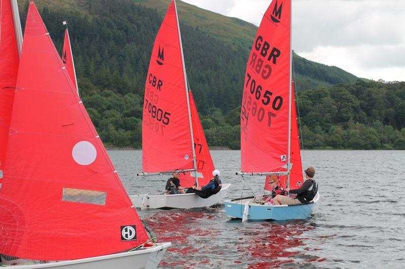 Mirror Inland, Youth & Junior, and Singlehanded Championship at Bassenthwaite photo copyright William Carruthers taken at Bassenthwaite Sailing Club and featuring the Mirror class