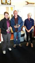 GP14 Ulster Championship Silver Fleet Winners Steve Nelson and Brenda Preston © Laura Thompson