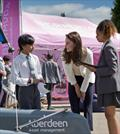 HRH Duchess of Cambridge at the Land Rover BAR Roadshow, Docklands Water Sports and Sailing Centre, East London © onEdition