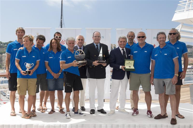 62nd Giraglia Rolex Cup Prize Giving