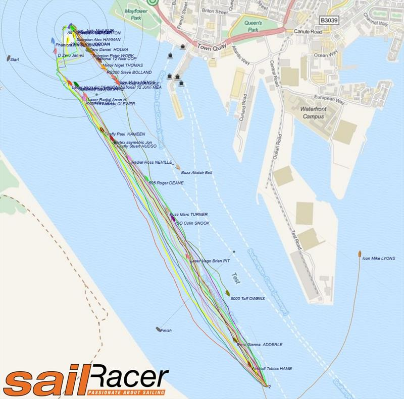 With this level of detail now being recorded, the challenge for the team at Sail Racer is to develop the tools to analyse the relative performance of any boat in a given situation and wind condition - photo © SailRacer