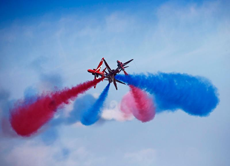 The Red Arrows photo copyright The Red Arrows taken at
