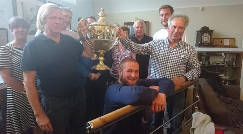 Churchill Cup to J90 at the Yacht Clubs of Weymouth Regatta - photo © Combined Yacht Clubs of Weymouth