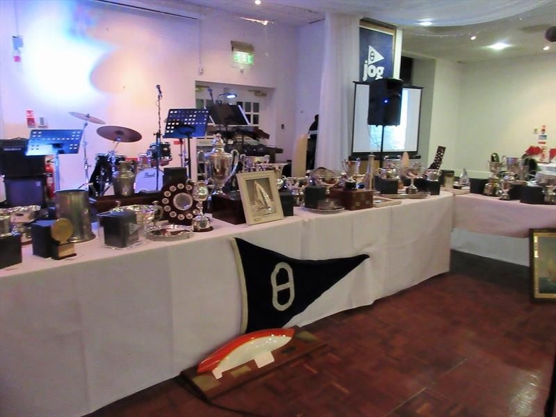 JOG Trophy Collection at the prize giving - photo © Peter Chartres