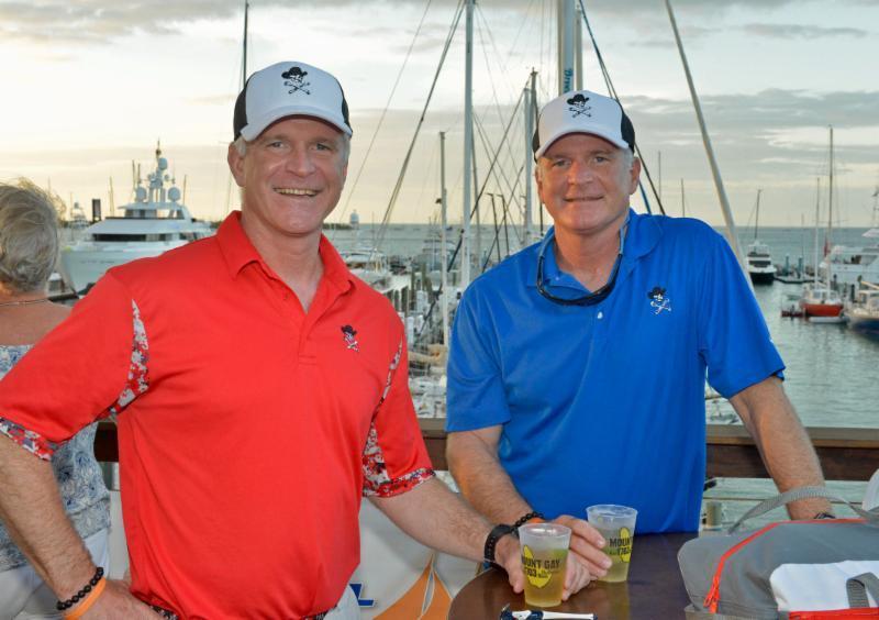 Shawn & Steve Burke: 25-time Race Week veterans at Quantum Key West