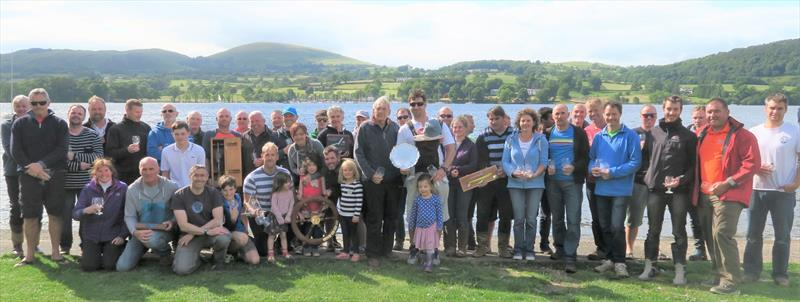 Birkett prizewinners photo copyright Sue Giles taken at Ullswater Yacht Club