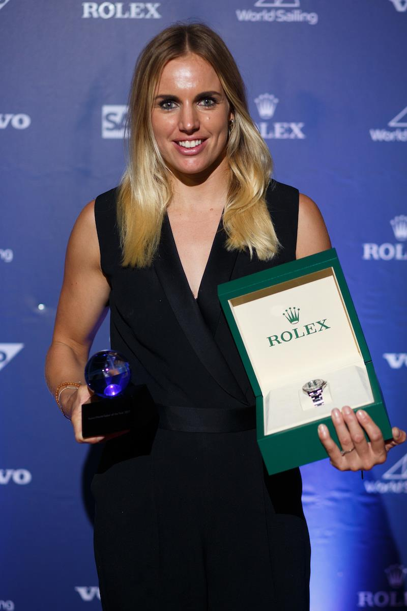 Marit Bouwmeester wins female 2017 Rolex World Sailor of the Year photo copyright Eder Acevedo taken at