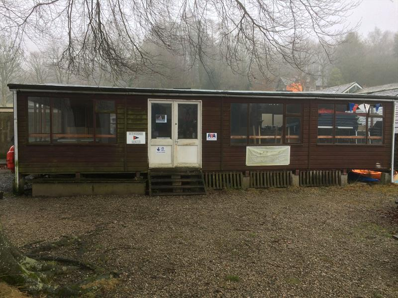 Goodbye to the old clubhouse at South Windermere Sailing Club - photo © Mark Fearnley