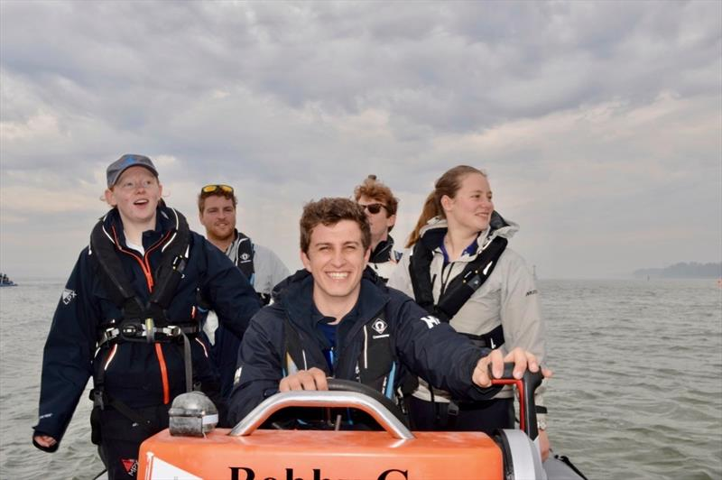 Fun on the RIB during the EUSC Reunion Race Weekend - photo © Will Roberts