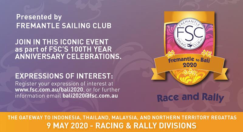 Fremantle to Bali 2020 Race and Rally - photo © FSC