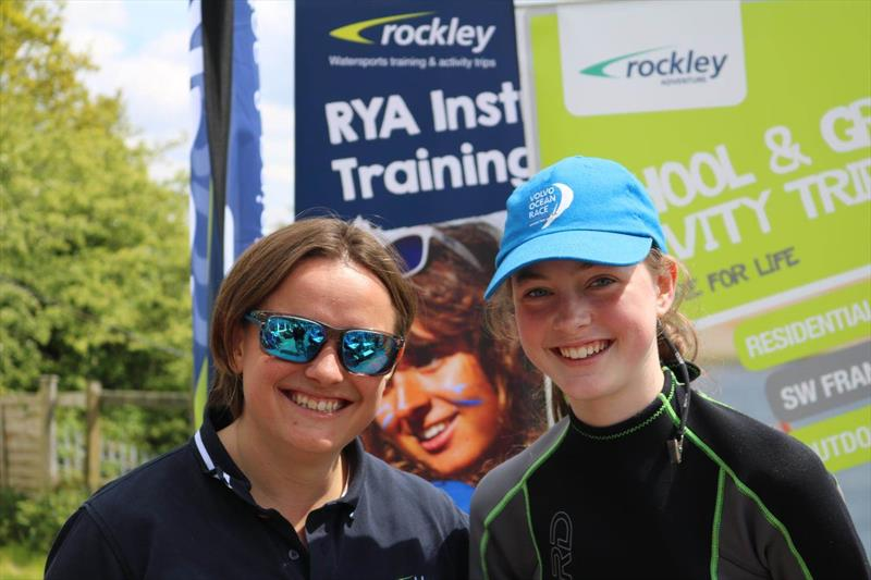 AJ from Rockley and Megan Hardiman during the Bartley Junior Regatta - photo © Kerry Webb