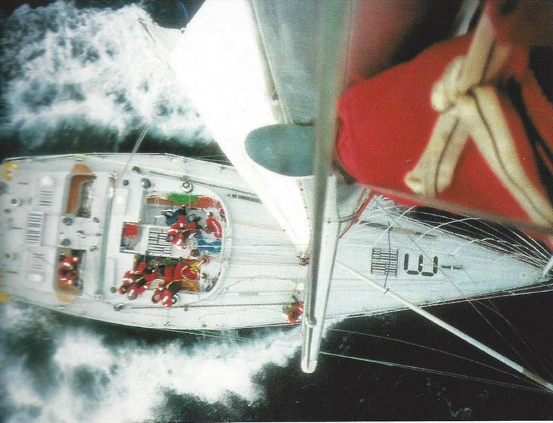 Maiden during the 1989/90 Whitbread Round the World Race - photo © The Maiden Factor