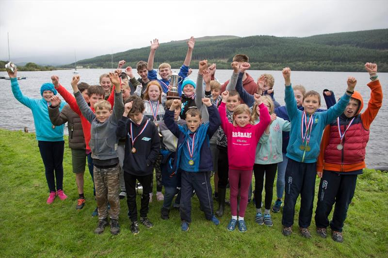 Dalgety Bay Sailing Club win the RYA Scottish Club Trophy - photo © Iain Tait
