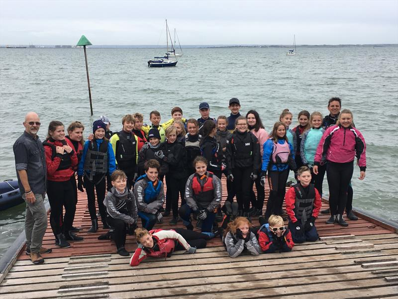 Matt Race 2018 at Thames Estuary YC - photo © TEYC