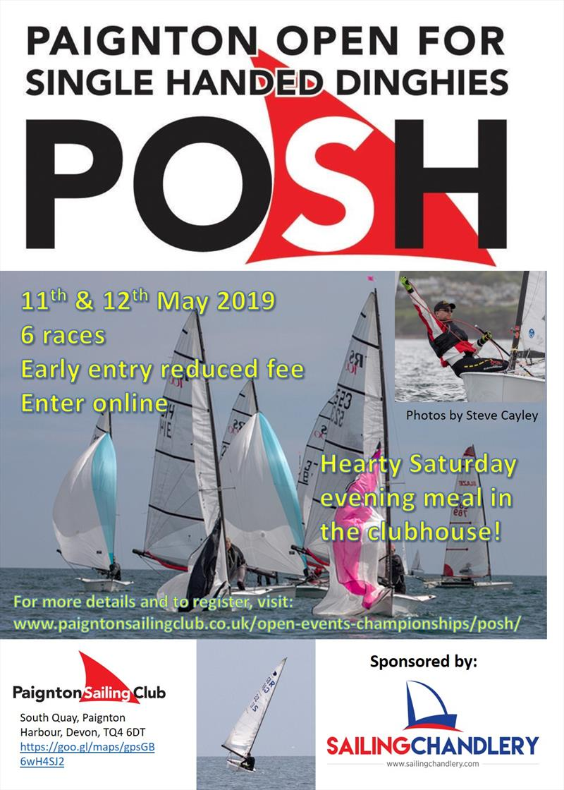 2019 POSH Preview - 8th edition of the Paignton Open for Single Handers