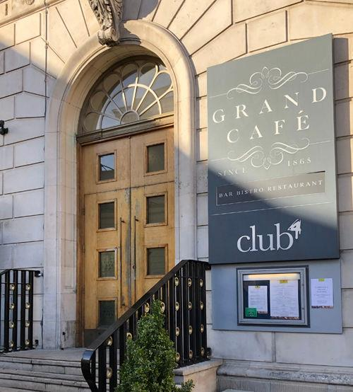 Grand Cafe, Southampton photo copyright Grand Cafe taken at