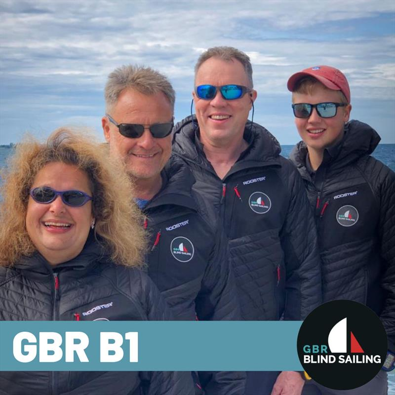 GBR Blind Sailing team in Kingston, Canada at the 2019 Blind Fleet Racing World Championships photo copyright Blind Sailing taken at Kingston Yacht Club