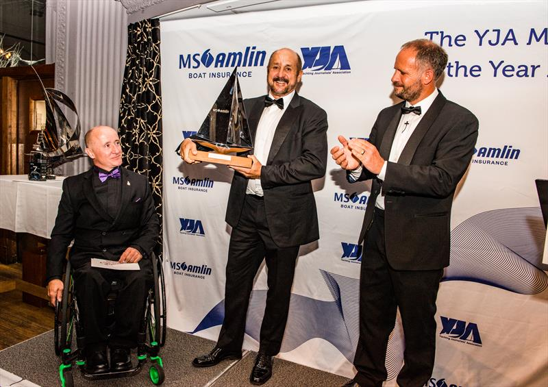 Roy Disney wins the MS Amlin Seamanship Award during the YJA MS Amlin Awards Gala Dinner - photo © Sally Golden