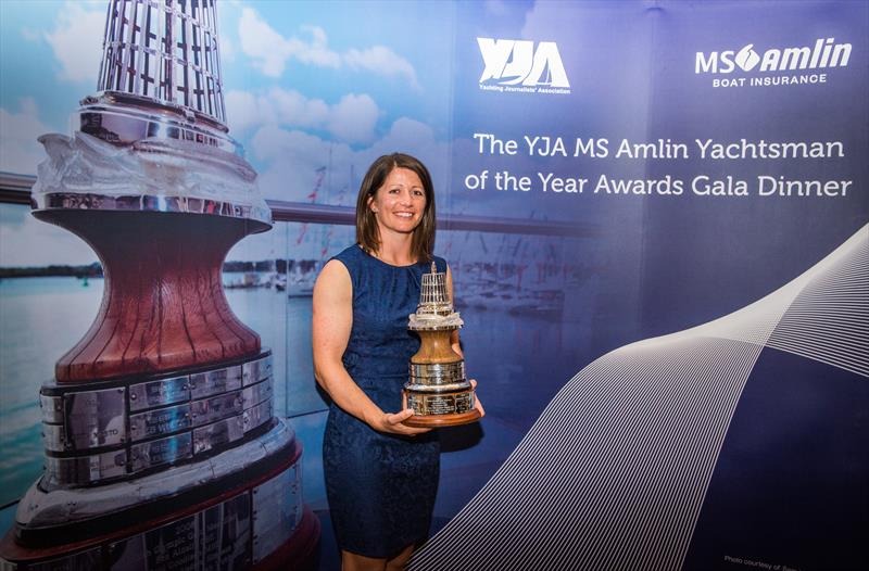 Lucy MacGregor at the YJA MS Amlin Awards Gala Dinner - photo © Sally Golden