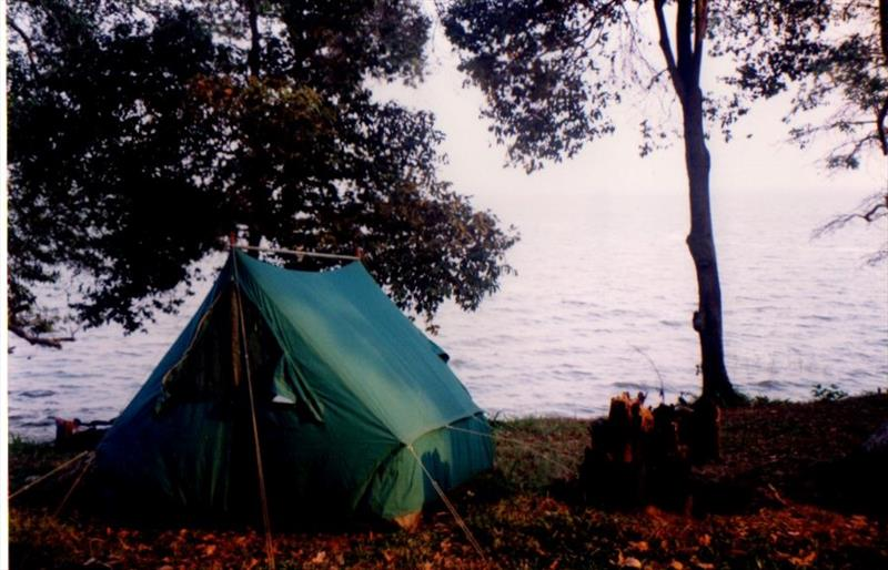 Wild camping adventures on the shores of Lake Victoria - photo © Liz Potter