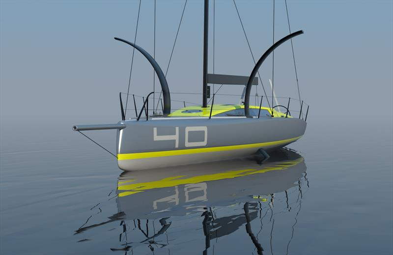 MW40OF - New Foiling Offshore Sailboat Concept - photo © Wilson / Marquinez Naval Architecture