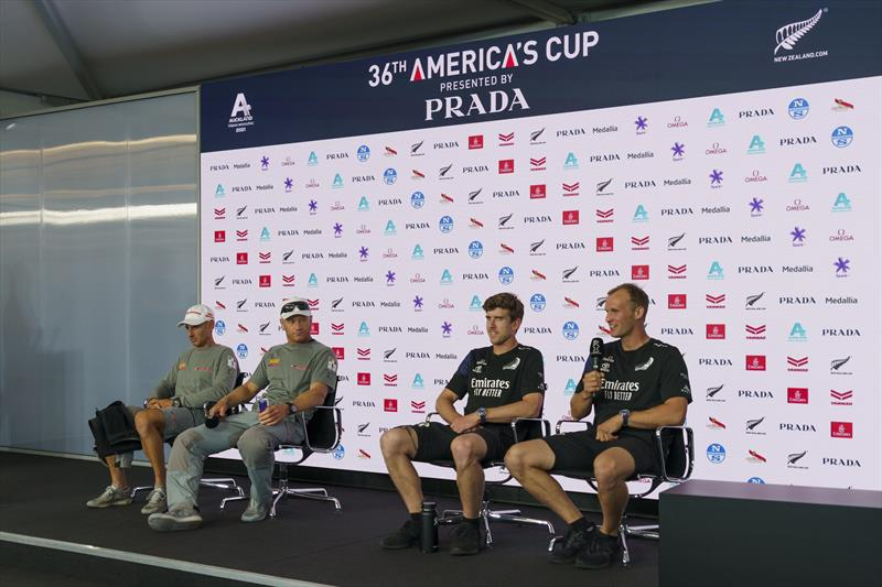 36th America's Cup Post Race Press Conference photo copyright ACE / Studio Borlenghi taken at Royal New Zealand Yacht Squadron