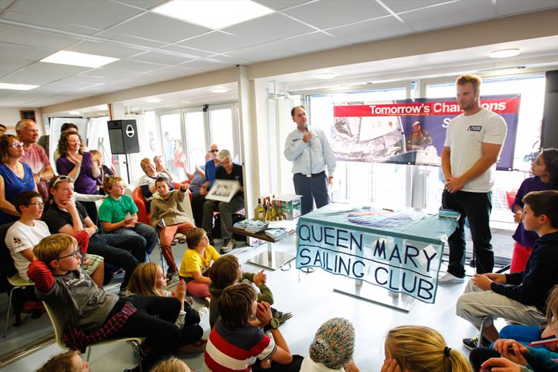 Andrew Mills visits the 2013 RYA Zone and Home Country Championships at Queen Mary Sailing Club - photo © Paul Wyeth / RYA